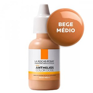 ANTHELIOS COLOR DOSE BEGE MÉDIO 17ML